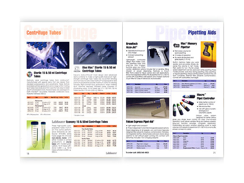 Life Science Supply catalog