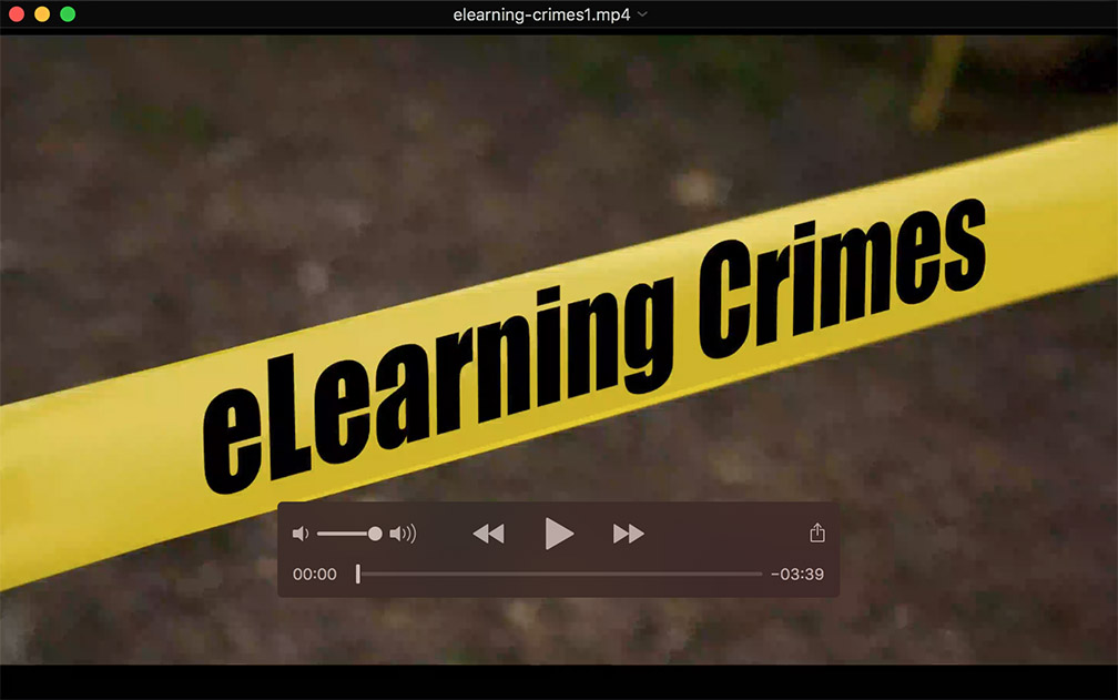 elearning crimes improving online learning